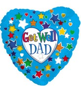 "18"" Get Well Dad P5 Box103"