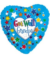 "18"" Get Well Grandpa Box97"