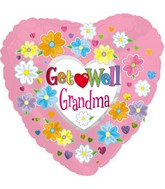"18"" Get Well Grandma Box116"