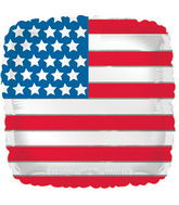 "17"" Flag Square Balloon"