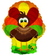 "10"" Airfill Thanksgiving Turkey MiniShape"