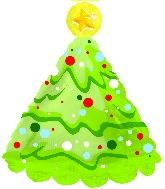 "18"" Christmas Tree Shape-A-Loon"