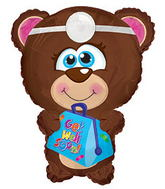 "22""Get Well Soon Bear Shape  Balloon"