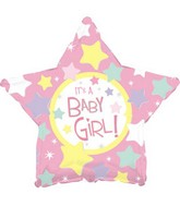"18"" It&#39s a Girl Star Box115"