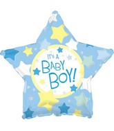 "18"" It&#39s a Boy Star Box110"