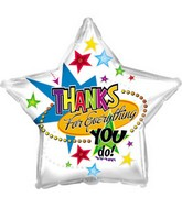 "18"" Thanks For Everything Star Box148"