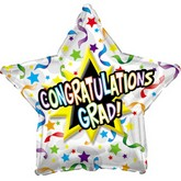 "18"" Congratulations Grad Streamers"