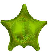"22"" Lime Dazzeloon Star Balloon"