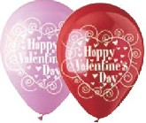 "12"" HVD Pink and Red Latex 50&#39s"