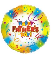 "18"" Happy Father's Day Streamers"