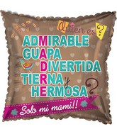 "17"" Madre Admirable Balloon"