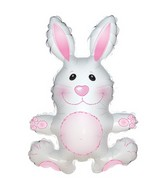 "12"" Airfill Only Pinky the Bunny Mini-Shape Balloon"