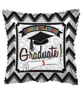 "9"" Grad Chevron Balloon"