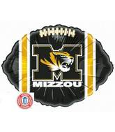 "18"" Collegiate Football Missouri, Columbia - Tiger"