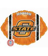 "18"" Collegiate Football Oklahoma State University"