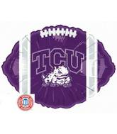"18"" Collegiate Football Texas Christian"