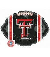 "18"" Collegiate Football Texas Tech Red Raiders"