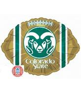 "18"" Collegiate Football Colorado State University"