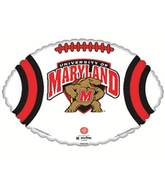"18"" Collegiate Football Maryland - Terrapins"