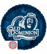 "18"" Collegiate Football Old Dominion University"