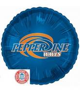 "18"" Collegiate Football Pepperdine University"