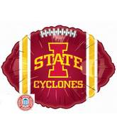 "18"" Collegiate Football Iowa State"