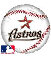 "18"" MLB BaseBall Balloon Houston Astros"