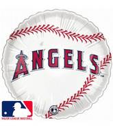 "18"" MLB BaseBall Balloon Los Angeles Angels of Anaheim"