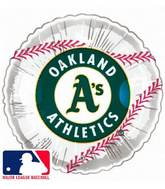"18"" MLB BaseBall Balloon Oakland Athletics"