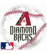"18"" MLB BaseBall Balloon Arizona Diamondbacks"