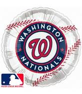 "18"" MLB BaseBall Balloon Washington Nationals"