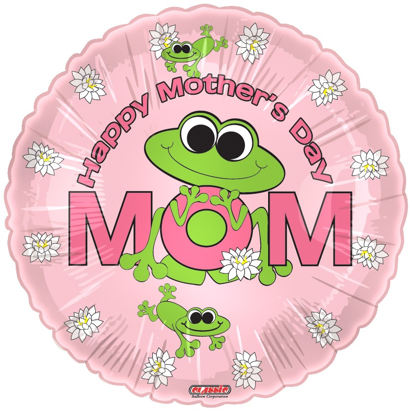 "18"" Happy Mother&#39s Day Frogs"