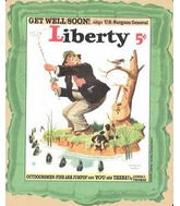 "23"" Liberty Get Well S0on"