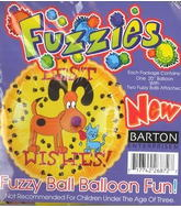 "18"" Best Wishes Fuzzy Dog Balloon"