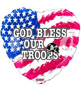 "18"" God Bless Our Troops"
