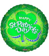 "18"" Happy St. Patricks Day Shamrock"