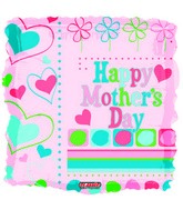 "18"" Happy Mother&#39s Day Square"