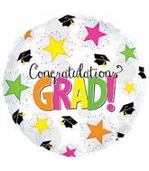 "31"" Congratulations Grad Neon Ultraloon Balloon"