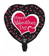 "9"" Airfill So Sweet Happy Valentine&#39s Day Balloon"