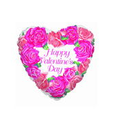 "36"" Pink Roses Valentines Day"