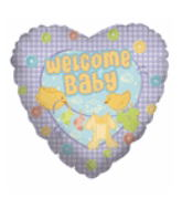 "18"" Welcome Baby Squares"