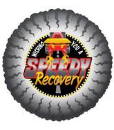 "18"" Speedy Get Well Balloon"