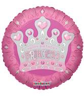"18"" Princess Tiara Balloon"