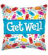 "18"" Get Well Bandaids Balloon"