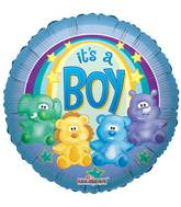 "18"" Zoo Baby Boy Balloon"