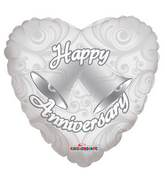 "18"" Anniversary Bells Balloon"