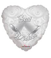 "18"" Best Wishes Bells Balloon"