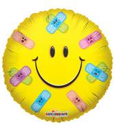 "18"" Smiley Band-Aids Balloon"