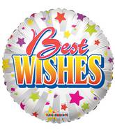 "18"" Best Wishes Stars Balloon"