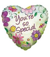 "18"" You're So Special Flowers Balloon"